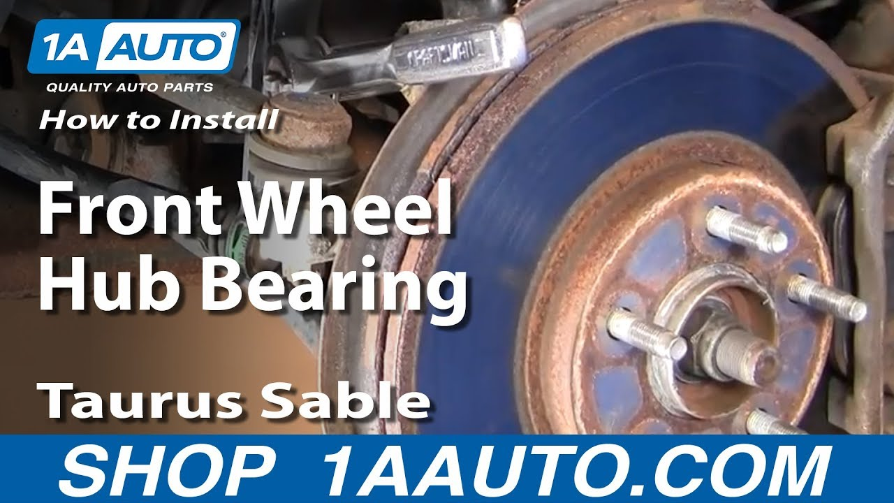 How To Install Replace Front Wheel Hub Bearing Taurus Sable 9606. How To Install Replace Front Wheel Hub Bearing Taurus Sable 9606 Part 1 1aauto Youtube. Toyota. Toyota Prius Front Wheel Hub Diagram At Scoala.co