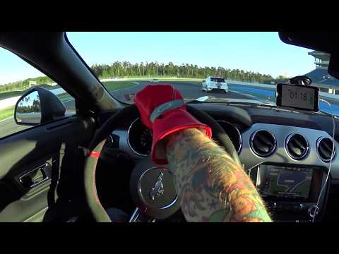 Ford Mustang Pony Trackday Hockenheim 16.5.2017 Drivers View
