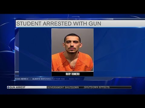Chris Michaels - 25 yo High School Student Arrested, Gun On Campus