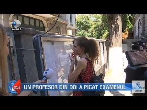 Stirile Kanal D (18.07.2018) - Un profesor din doi a picat examenul! Editie COMPLETA