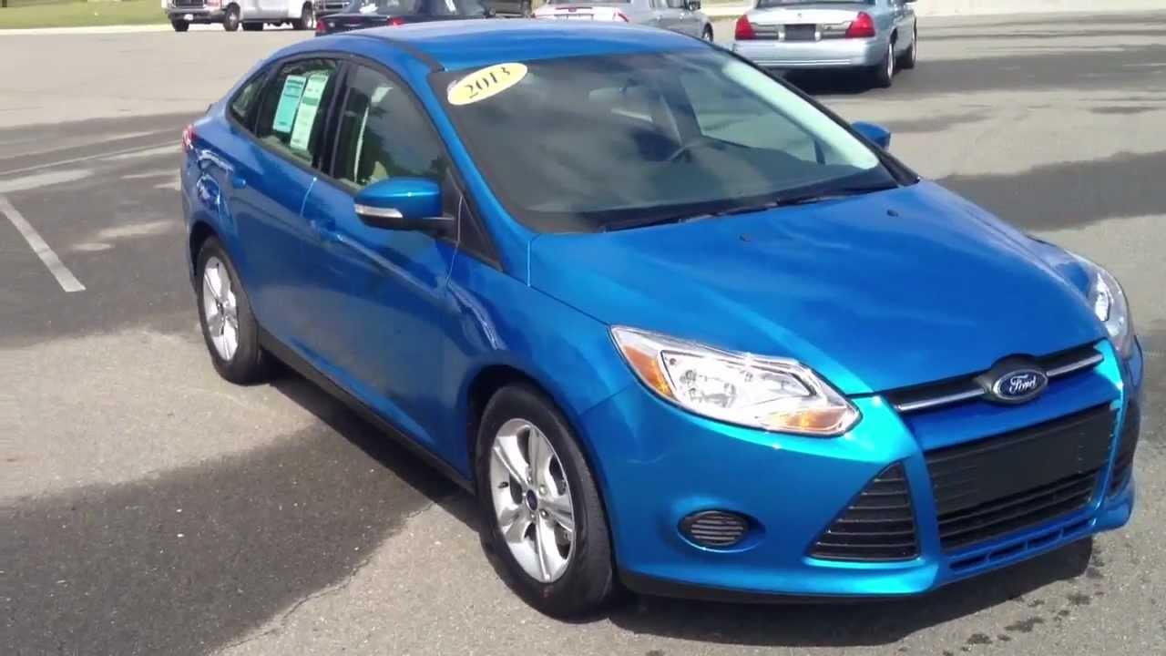 Blue Ford Focus >> 2013 Ford Focus Se Blue Candy