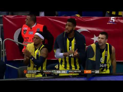 Euroleague Game 27: Fenerbahce Istanbul 87 - Maccabi FOX Tel Aviv 73