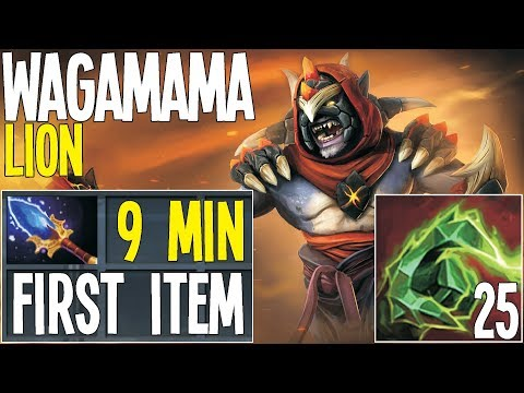 Lion First Item Scepter 9 Min by Waga | Dota 2 Pro Gameplaay thumbnail
