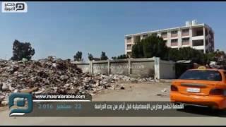 بالفيديو| فيروسات القمامة تستقبل طلاب مدارس الإسماعيلية
