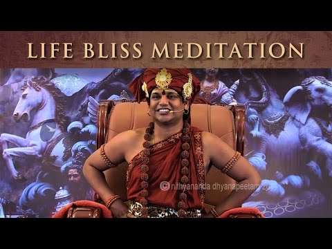 Life Bliss Meditation (Nithya Dhyaan) - The Meditation Process