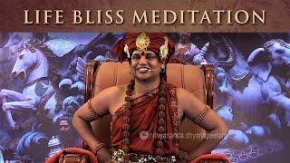 Life Bliss Meditation (Nithya Dhyaan) - The Meditation Process