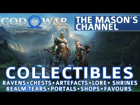 God of War - The Mason's Channel All Collectible Locations (Favor: The Anatomy of Hope) - 100%