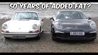 Should you ever buy a classic 911 over a modern? Porsche 911E and 991S