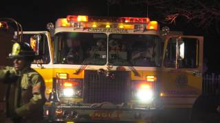 Pre-Arrival Video: Reported house fire in Catasauqua, PA.  04/12/17