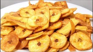 Banana Frita  De Jeito Simples e Crocante