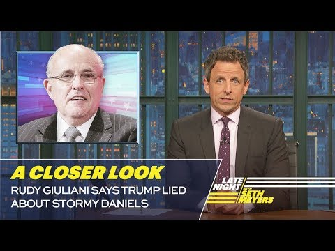 Rudy Giuliani Says Trump Lied About Stormy Daniels: A Closer Look