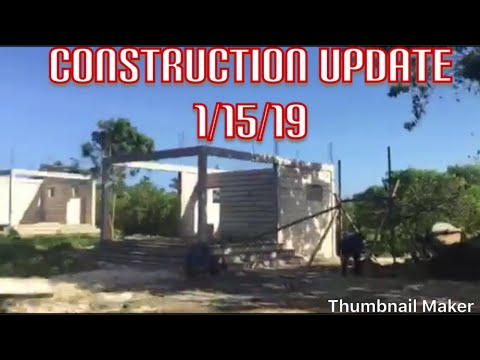 Construction Update 1/15/19 ANDA BOHOL PHILIPPINES