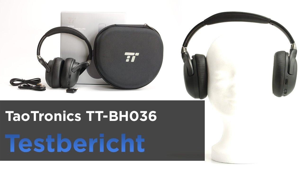 fad5db3c8d7 TaoTronics TT BH036 im Test - Bluetooth-Kopfhörer mit ANC und ...