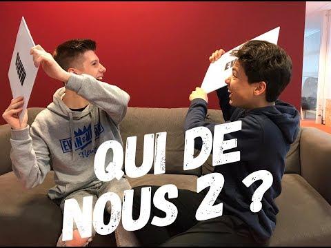 Evan et Marco - Qui de nous 2 ?