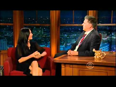 Craig Ferguson 3/5/12D Late Late Show Courtney Cox