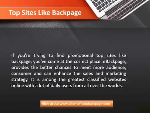 Top Sites Like Backpage