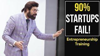 Stop Reading Success Stories, Start Studying Failures | Millionaire Mindset | Speech on Startups