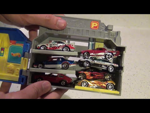 Hot Wheels Sto & Go City Playset - Unboxing and Review