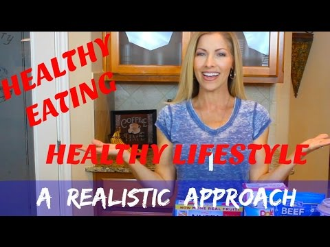 Healthy Eating - Healthy Lifestyle - A Realistic Approach - How I Maintain My Weight