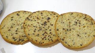 Бисквит с черносливом. Biscuit.