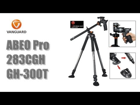 Vanguard ABEO Pro 283CGH with GH-300T in 120s