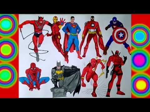 All Characters Superheroes Spiderman
