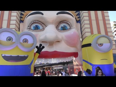Fun day at Sydney Luna Park/Fun Theme Park