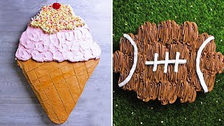 Creative Cake Decorating Ideas | Yummy Chocolate Cake Recipe Tutorial | Hoopla Recipes