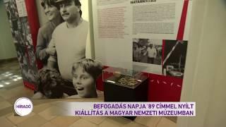 Befogadás napja '89 címmel nyílt kiállítás a Magyar Nemzeti Múzeumban
