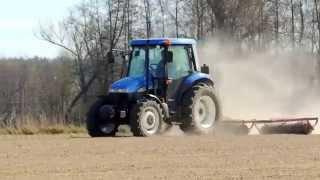 Siew zbóż, sadzenie ziemniaków, uprawa gleby, wałowanie Czyli wiosna 2014 na Podlasiu!