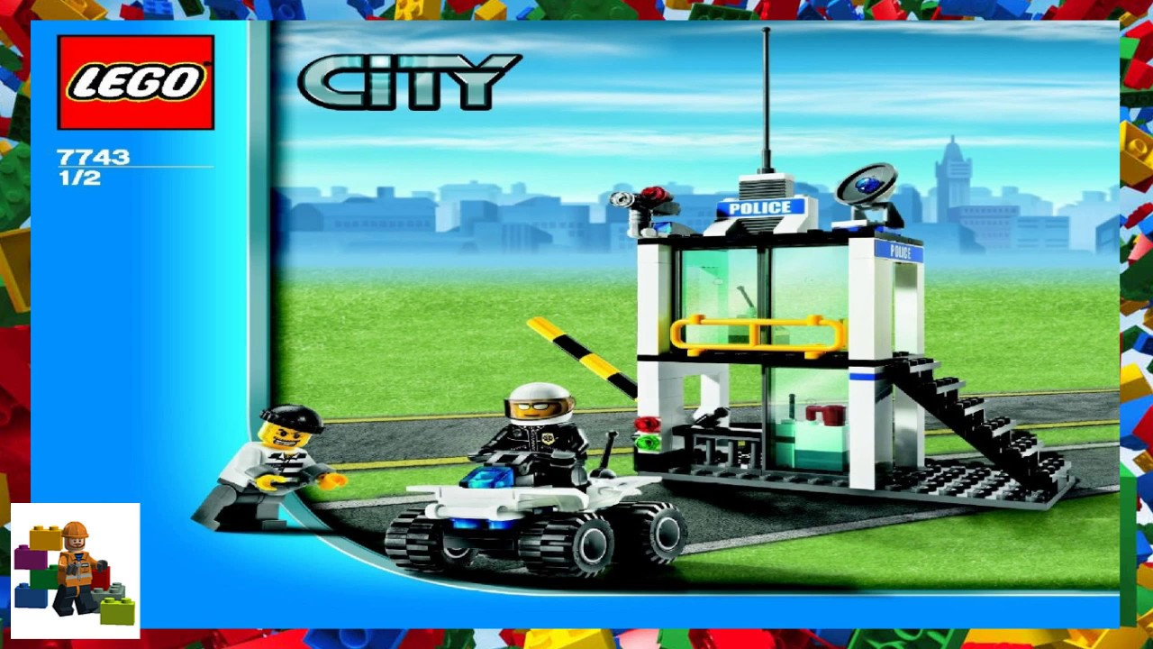 LEGO instructions - City - Police - 7743 - Police Command ...