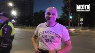 Таксист устроил ДТП и задержал бесправницу на Лансере  Место происшествия 22 06 2021