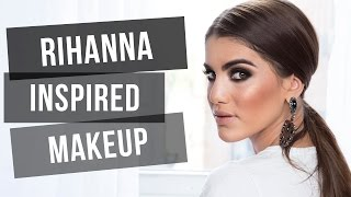 Rihanna Inspired Makeup Thumbnail