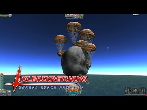 KlerikReturns to KSP - Asteroid Splash Down