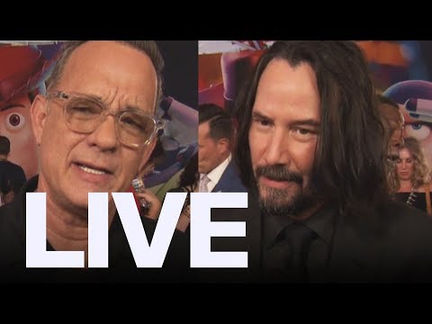 Tom Hanks Keanu Reeves At &39;Toy Story 4&39; Premiere  ET Canada