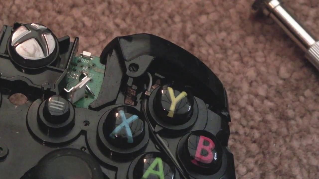 Microsoft XBOX One Controller RB / LB Button Repair (Again)