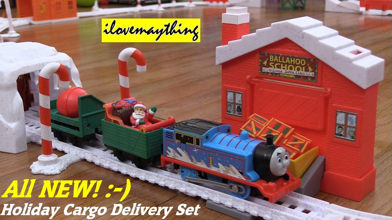 Christmas Toys All New Thomas & Friends Trackmaster Holiday Cargo