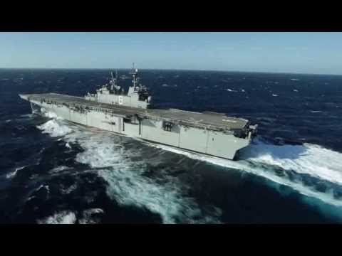 America (LHA 6) Builder's Sea Trials