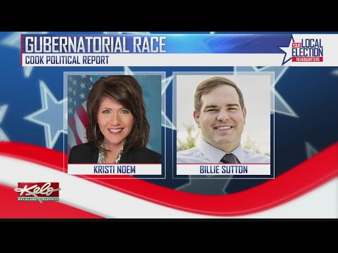 Noem And Sutton React To Poll, Calling SD Governor's Race