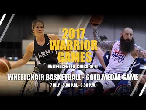 2017 DoD Warrior Games - Team Army versus Team Navy