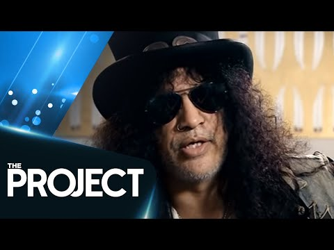Slash Opens Up In First TV Interview In Years | The Project NZ