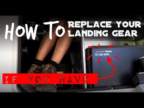 Fifth Wheel Landing Gear Failure - How to Replace on a Fifth Wheel on