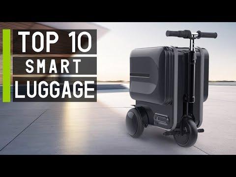 Top 10 Coolest Futuristic Smart Suitcases