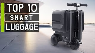 Top 10 Cool Futuristic Smart Suitcases in 2019