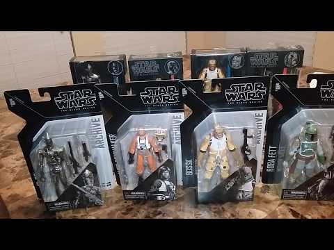 Star Wars Black Series Archive series wave 1 vs originals
