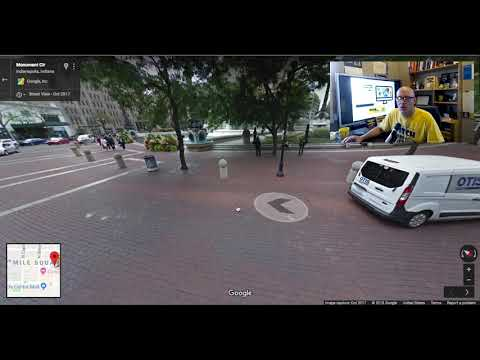Google Maps walking tours with Street View and Screencastify