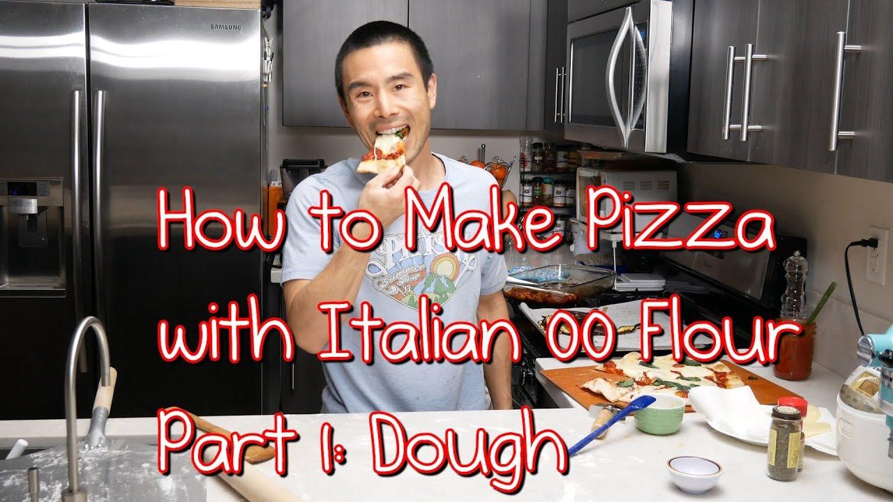 how to make italian pizza dough youtube