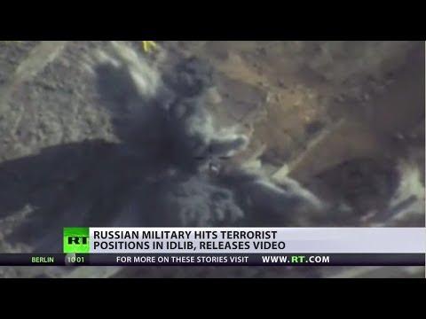 Russian military hits terrorist positions in Idlib, denies strikes on civilians