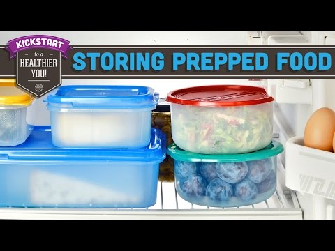 Meal Prep: How To Store Prepped Food - Mind Over Munch Kickstart 2016