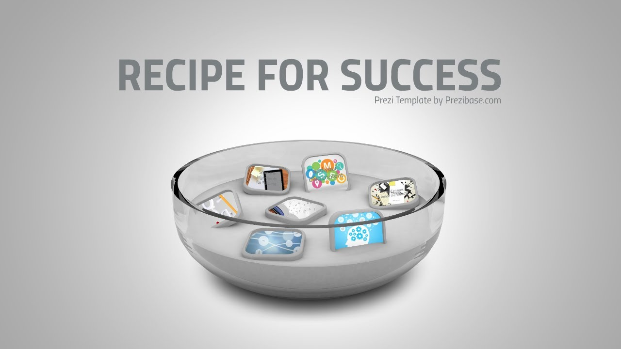 Recipe For Success Prezi Template YouTube